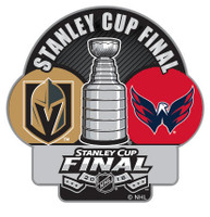 2018 Stanley Cup Finals Dueling Pin - Knights vs. Capitals