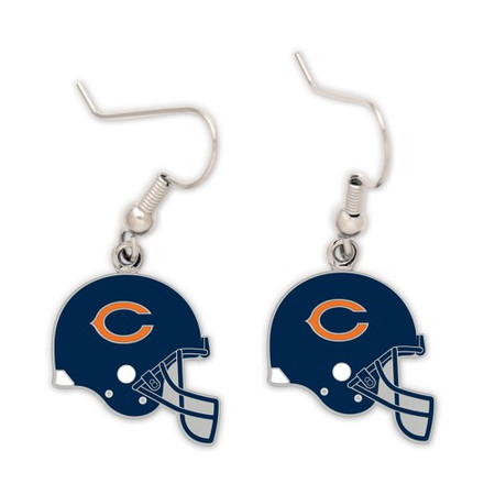 Chicago Bears Helmet Earrings