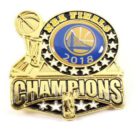 Golden State Warriors 2018 NBA Champions Pin