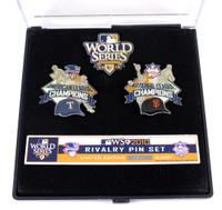 2010 World Series Match-Up Pin Set - Rangers vs. Giants - Limited Edition