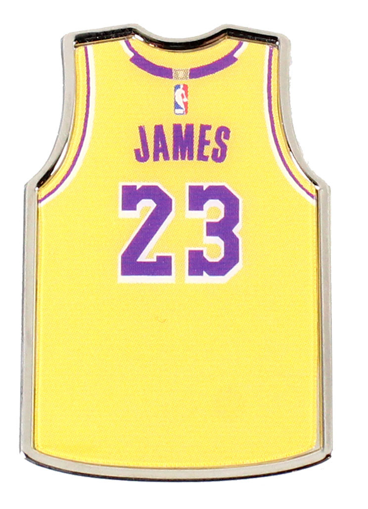37e5832efda0 LeBron James Los Angeles Lakers Jersey Pin. Loading zoom