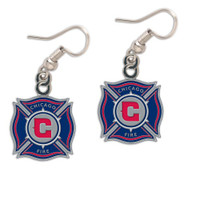Chicago Fire Logo Earrings