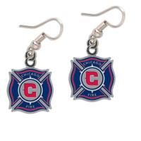 Chicago Fire Logo Earrings