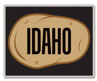 Idaho Potato Pin