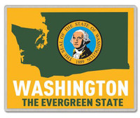 Washington Lapel Pin - The Evergreen State