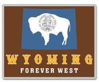 Wyoming Lapel Pin - Forever West