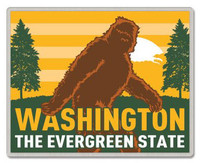 Washington Lapel Pin - Bigfoot
