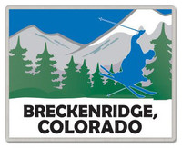 Brekenridge Colorado Lapel Pin
