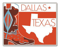 Dallas Texas Lapel Pin