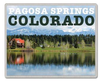 Pagosa Springs Colorado Pin