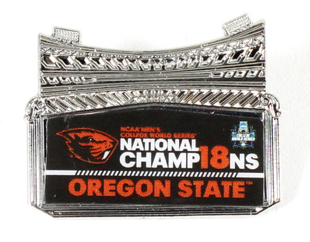 Oregon State Beavers 2018 College World Series Champs Pin