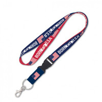 Born In The USA Detachable Patriotic Lanyard