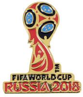 2018 FIFA World Cup Soccer Logo Pin