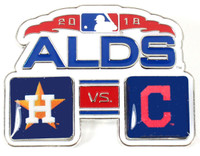 2018 ALDS Match Up Pin - Astros vs. Indians