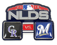 2018 ALCS Match Up Pin - Astros vs. Red Sox