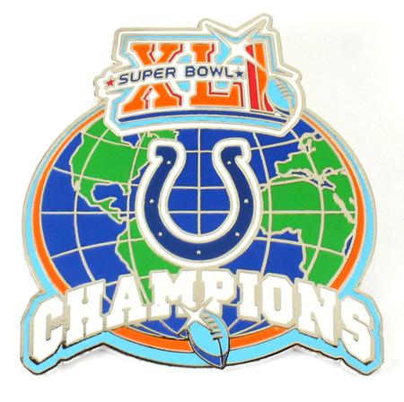 Indianapolis Colts Super Bowl XLI Pin