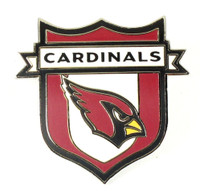 Arizona Cardinals Crest Pin