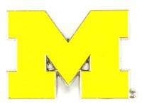 Michigan Wolverines Logo Pin