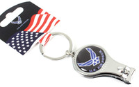 Air Force Multi Function Key Chain (Nail Clipper, Bottle Opener, Nail File)8048