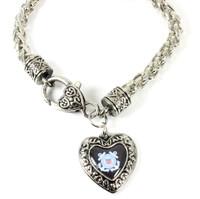 Coast Guard Charmed Heart Bracelet