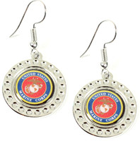 Marines Dimple Earrings