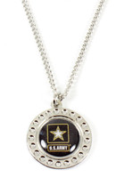 Army Dimple Necklace