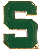 Michigan State Logo Pin