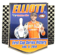 Bill Elliott First Cup Series Victory Pin