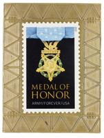 Army Medal of Honor Forever Stamp Pin