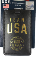Team USA Leatherette Luggage Tag