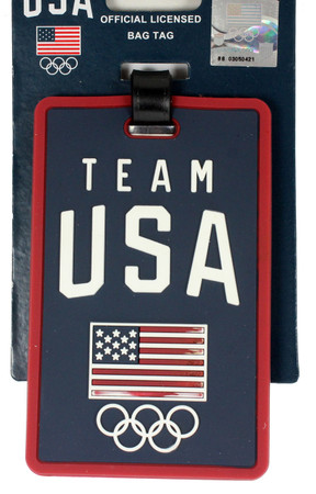 Team USA Luggage Tag