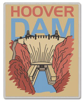 Hoover Dam Lapel Pin