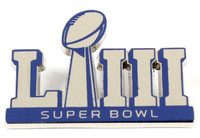 Super Bowl LIII (53) Logo Pin