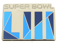 Super Bowl LIII (53) Color Filled Logo Pin