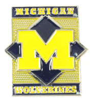 Michigan Wolverines Diamond Pin