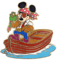 Mickey Mouse Pirates Of The Caribean Pin