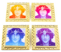 John Lennon Forever Stamp Pin Set (4 Stamp Pins)