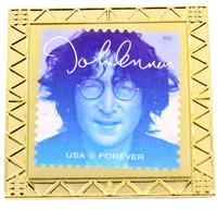John Lennon Forever Stamp Pin 1