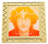 John Lennon Forever Stamp Pin 3