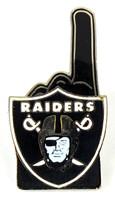 Oakland Raiders #1 Fan Pin