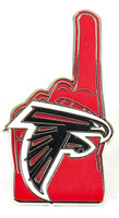 Atlanta Falcons #1 Fan Pin.