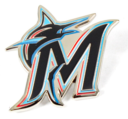 Miami Marlins Logo Pin - 2019