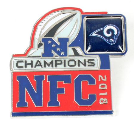 Los Angeles Rams 2018 NFC Champions Pin