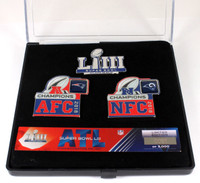 Super Bowl LIII (53) Patriots vs. Rams Dueling Pin Set - Limited 5,000