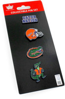 Florida Gators Four Pin Collector Set