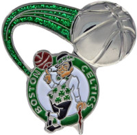 Boston Celtics Glitter Trail Pin