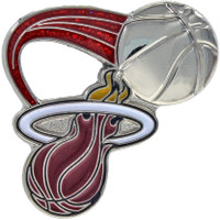 Miami Heat Glitter Trail Pin