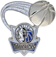 Dallas Mavericks Glitter Trail Pin