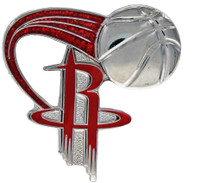 Houston Rockets Glitter Trail Pin