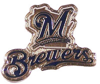Milwaukee Brewers Primary Plus Logo Pin